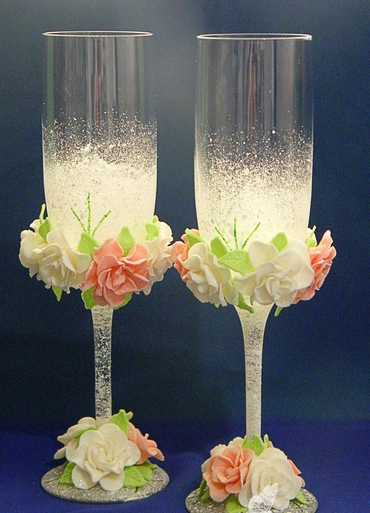 Iixg sN li4 - Красивые свадебные фужеры