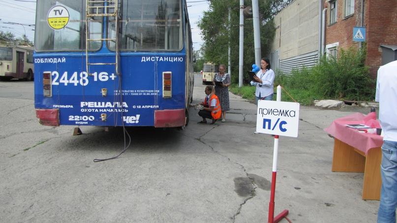 Конкурс профессионального мастерства среди водителей троллейбуса— 2021., изображение №39