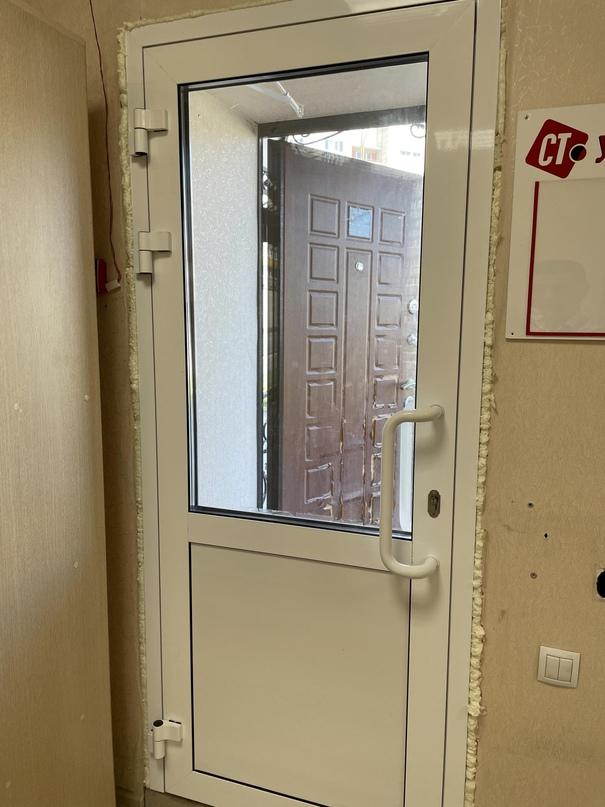 Дверь из тёплого Алюминия с двойными | Объявления Орска и Новотроицка №23812