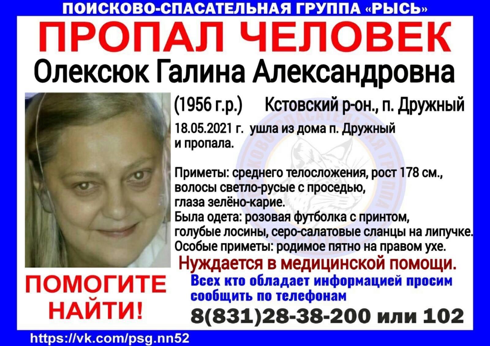 Олексюк Галина Александровна