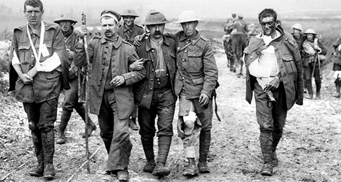 Раненые на Западном фронте