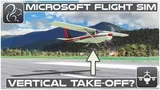 Can You Take Off Without Moving? - Microsoft Flight Simulator (Cessna 152)