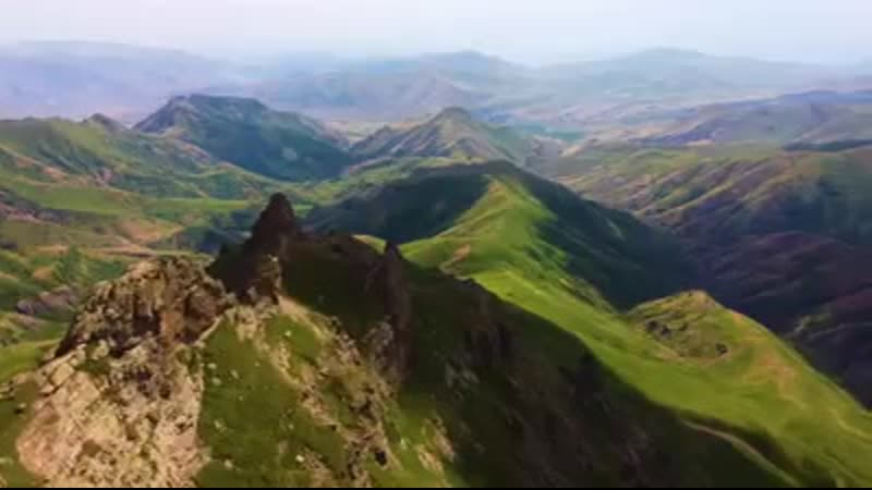 Mountains, sunsets, hiking in Armenia