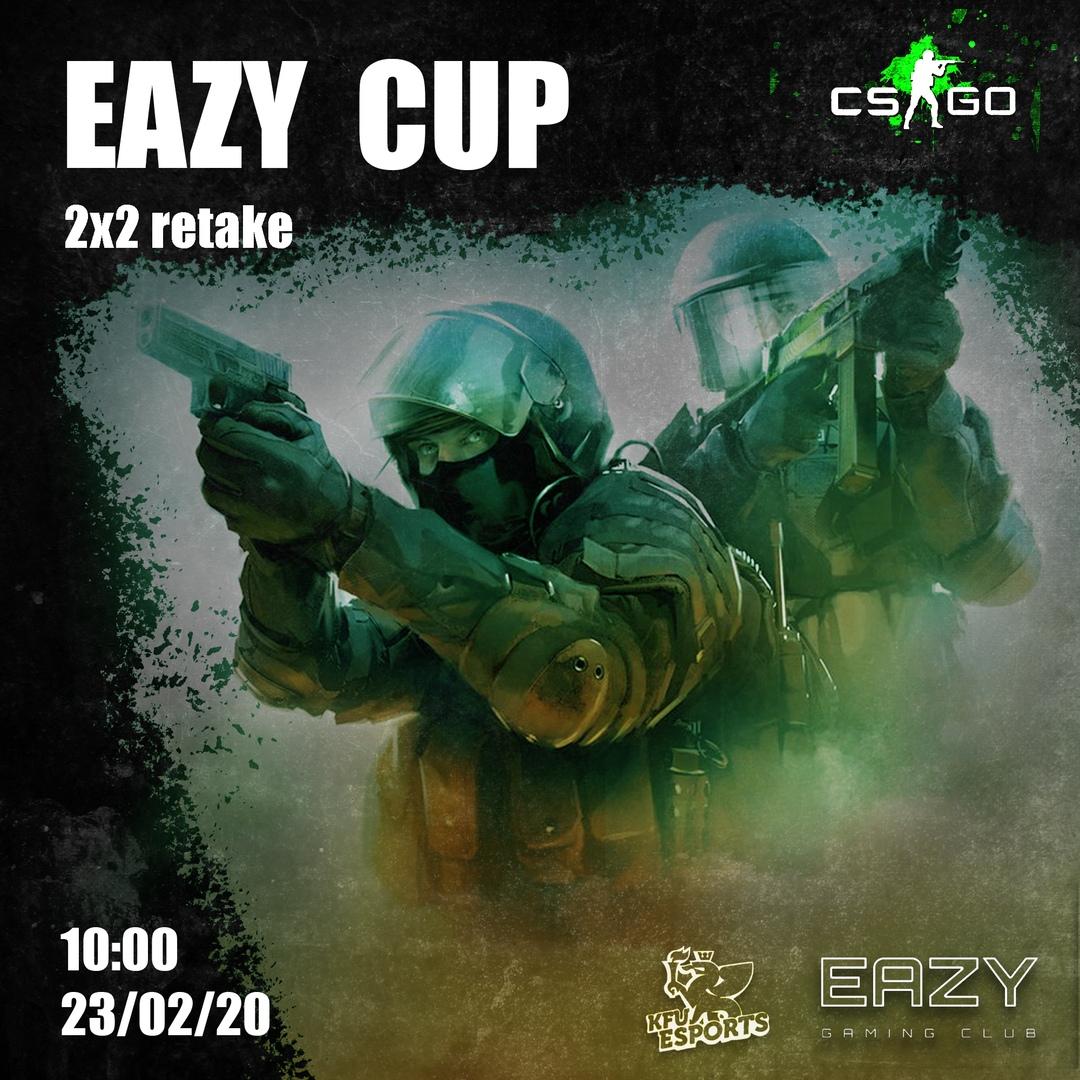 Афиша Казань 23.02 CS:GO 2x2 retake EAZY CUP
