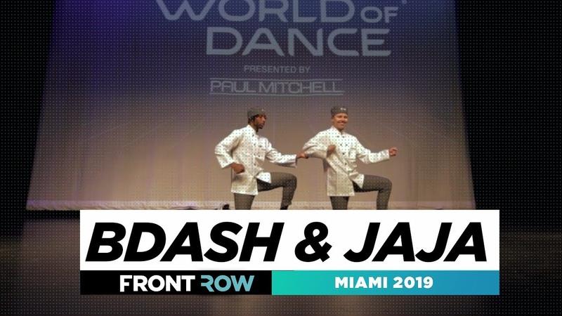 Bdash Jaja | FRONTROW | World of Dance Miami 2019 | WODMIAMI19