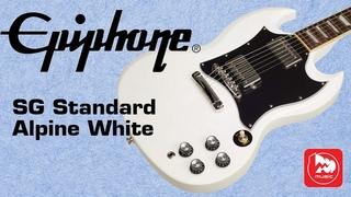 Электрогитара EPIPHONE SG Standard Alpine White