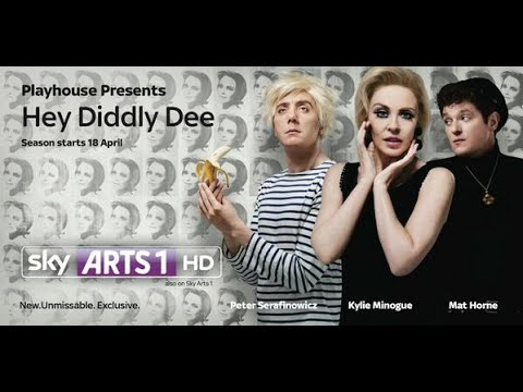 Hey Diddly Dee Peter Serafinowicz Kylie Minogue and Mat Horne