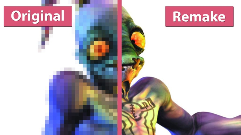 Oddworld Abe's Oddysee vs New 'n' Tasty Graphics Comparison WQHD 1440p