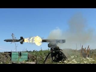 Учение артиллеристов Ульяновского соединения ВДВ