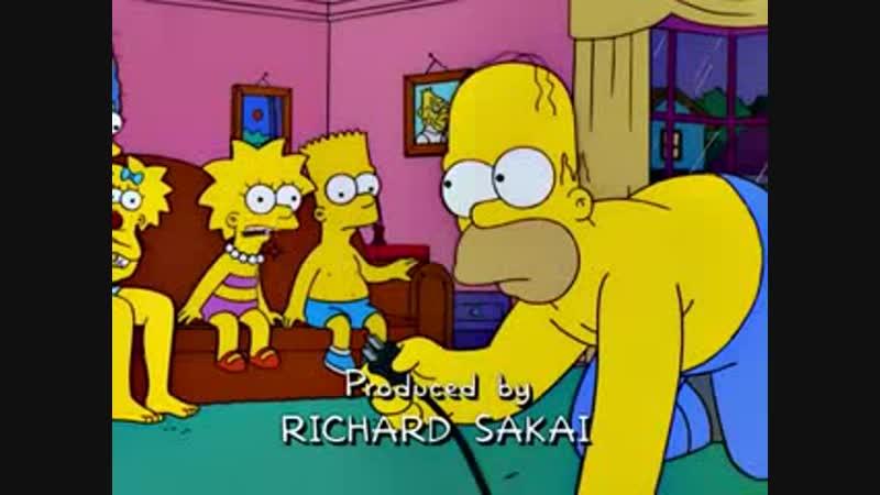 Homero y su santa