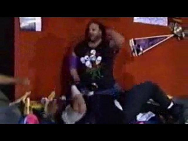 WI WCW Spring Stampede 1994 Chicago Street Fight Falls Count Anywere Jack Maxx Payne vs The Nasty Boyz
