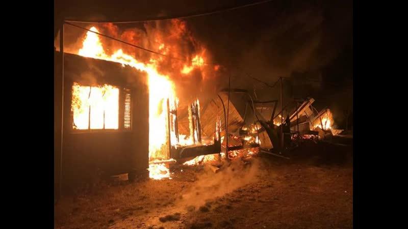 Сгорели семь домов в Одесской области потушили пожар на базе отдыха