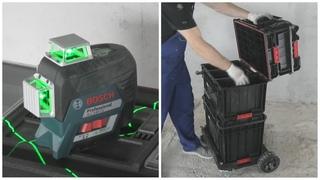 Обзор нового лазерного уровня и лучшая система хранения инструмента.