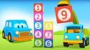 Умные машинки и кубики с цифрами - Мультики про машинки для малышей - Игры и развивающие мультфильмы
