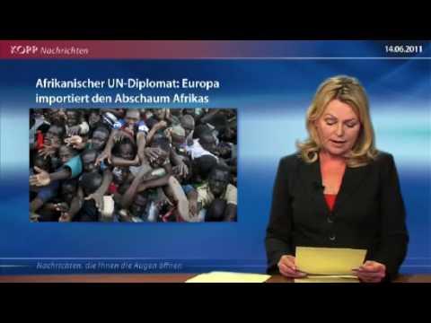 Africký diplomat OSN Evropa importuje spodinu Afriky
