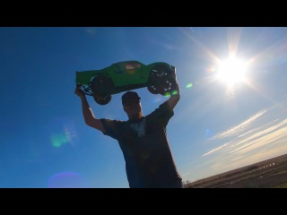 RC ADVENTURES - RACiNG & BASHiNG 1/5th Scale RC TRUCKS =' FUN!  Losi 5T, Baja 5SC, Baja 5T & MORE!
