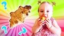 Yer elması ile normal elmanın farkı ne? Oyuncak kamyon Leo ile eğitici oyun Çocuk videosu