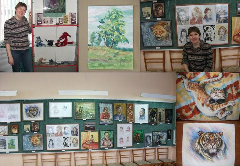 Выставка в ДХШ им. Ф. А. Бронникова, 2013 г.