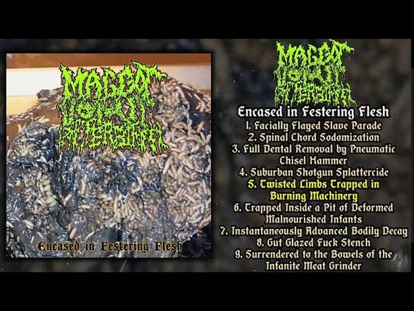Maggot Vomit Afterbirth - Encased in Festering Flesh FULL EP (2020 - Goregrind)