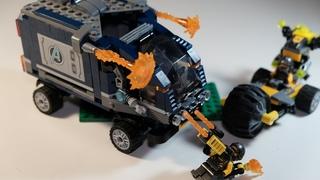 Собриаем  LEGO Marvel Avengers Movie