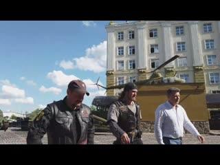 Техника из музеев Задорожного, Сапун горы и Сталинградской битвы примет участие в байк-шоу.mp4