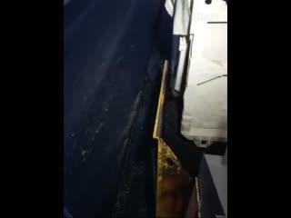 Нарушение в технологии укладки асфальта на Сахалине