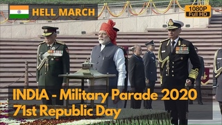 Hell March - India Republic Day Military Parade 2020 (Full HD)
