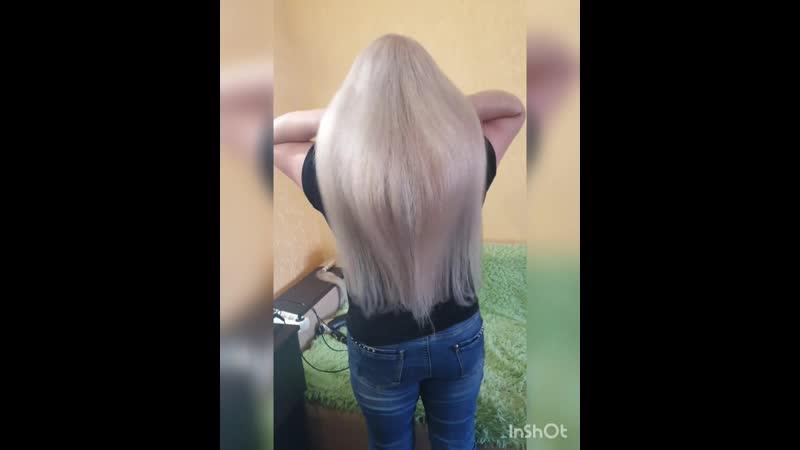 блондик 60см 100гр