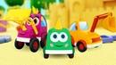 Мультфильм Машинки Мокас песенка про машинки! Детские песенки для самых маленьких
