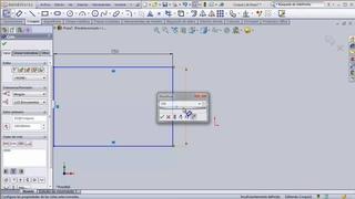 02 Relaciones y cotas. Tutoriales básicos de SolidWorks 2010.