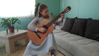 """Евгений Баев. Этюд """"Цыганочка.""""Исп. Алиса Шпитонова."""