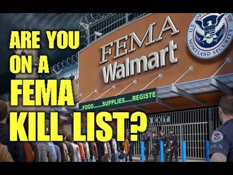 Are You On A FEMA Kill List