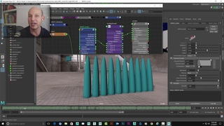 Journey to VR: Using Maya's nCloth to create audio-driven motion graphics (Part 2 of 2)