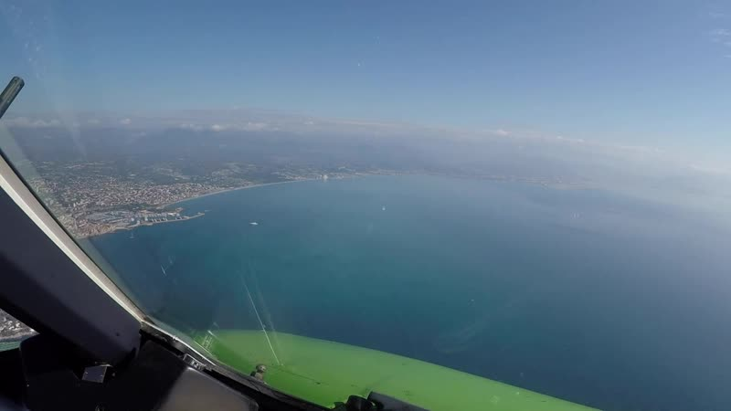 Pilotsview Aer Lingus A320 into Nice Airport.mp4
