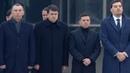 Зеленский лично встретил самолет с телами погибших в авиакатастрофе в Иране