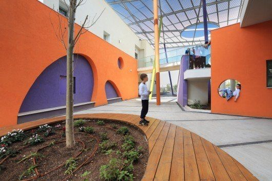 Rakafot School's Grounds / BO-Landscape Architects