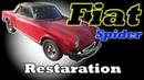 Fiat Spider Body restoration