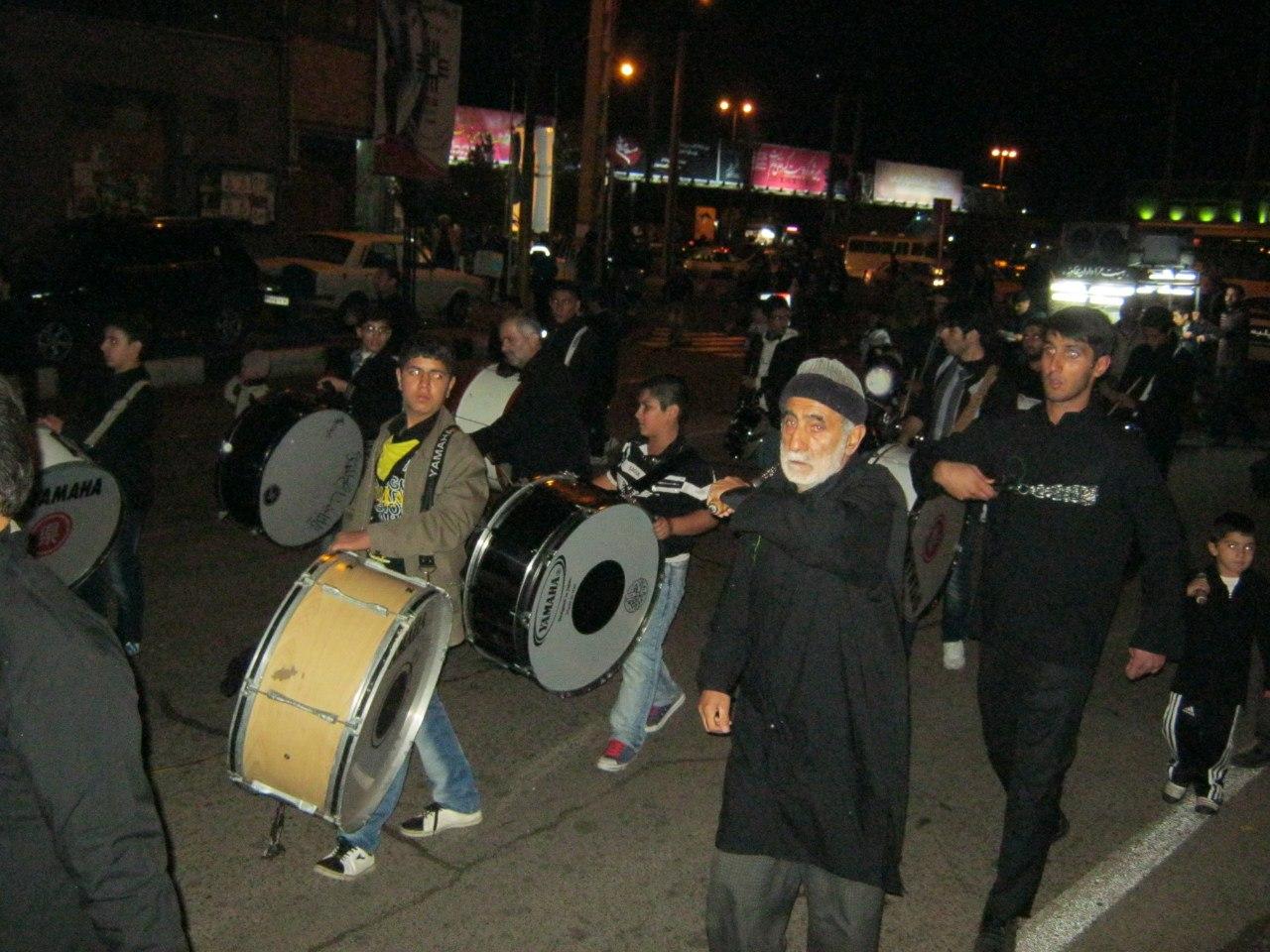 Ирану во время дней Ашура церемонии