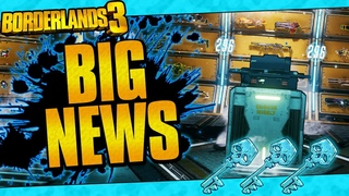 Borderlands 3 | Big News! (Diamond Keys, Mini Armory, and Vault Cards)