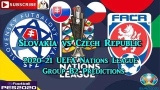 Slovakia vs Czech Republic | 2020-21 UEFA Nations League | Group B2 Predictions eFootball PES2020