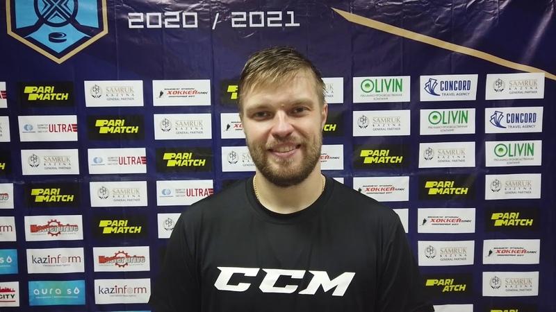 Послематчевое интервью с Михаилом Демидовым Арлан Актобе 2 0 24 10 2020