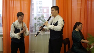 "Дуэт ""AVE"", ЕДШИ № 4 ""АртСозвездие"", исп. А. Вивальди Andante из концерта для двух мандолин"