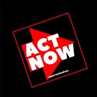"""Логотип """"ACT NOW""""/Rope Jumping/Прыжки с веревкой"""