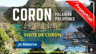 ⛵Croisière Plongée Scuba #Coron Philippines Palawan, Séjour plongée épaves, barracuda lake, apo reef