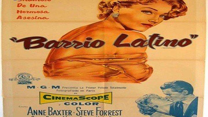 BARRIO LATINO (1955) de Mitchell Leisen con Anne Baxter, Steve Forrest, Simone Renant by Refasi