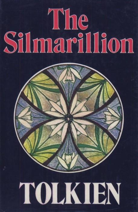 Обложка первого издания «Сильмариллиона». 1977 год