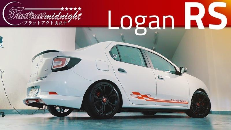 LOGAN RS RACING SPIRIT 2 0 F4R SEIS MARCHAS A TOCADA DO SANDERO RS MAS MAIS VERSÁTIL