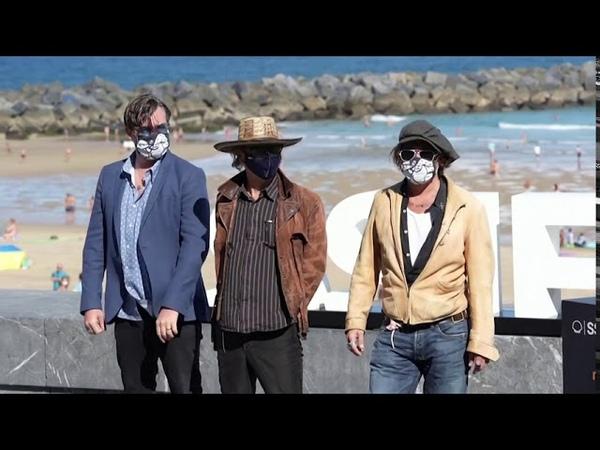 Johnny Depp attends photo call at San Sebastian Film Festival