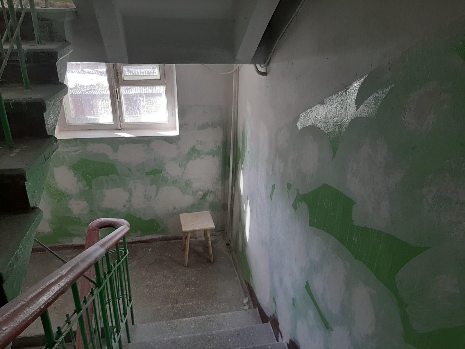 Улица Большева дом 15 подготовительные работы к