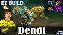 Dendi - Phantom Lancer Safelane   EZ BUILD   Dota 2 Pro MMR Gameplay 2